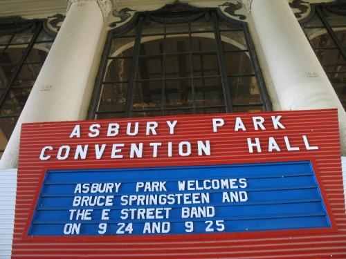 Conciertos de ensayo en Asbury Park